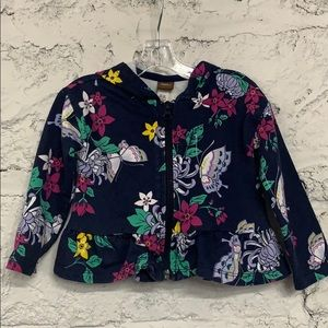 Tea Collection Toddler Floral Hoodie